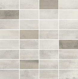 O FLOORWOOD WHITE-BEIGE MIX MOSAIC 29X29,5 G.1