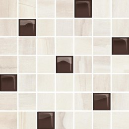 SIMPLE STONE BEIGE GLASS MOSAIC 24,86X25