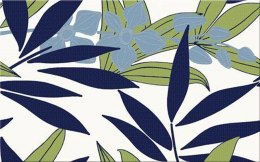 C LUNIA WHITE INSERTO LEAVES 25X40